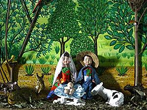 Exposição de presépios natalinos vai até o dia 16 de janeiro (Foto: Divulgação/ Prefeitura de Cuiabá)