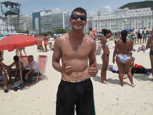 Thiago Santos (Foto: Roberto De Martin/G1)