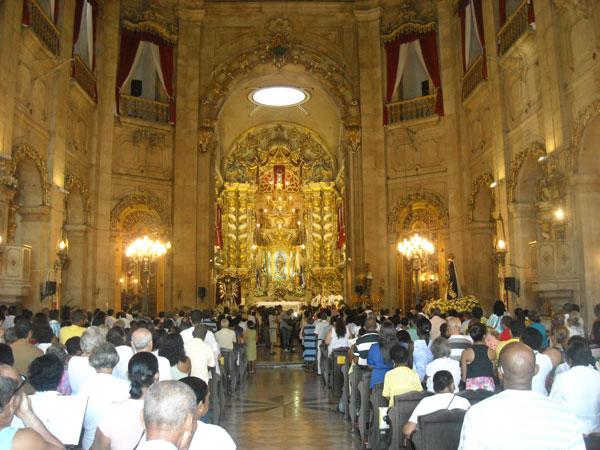 Festa de Bom Jesus dos Navegantes é realizada no domingo em Salvador (Foto: Jairo Gonçalves/G1)