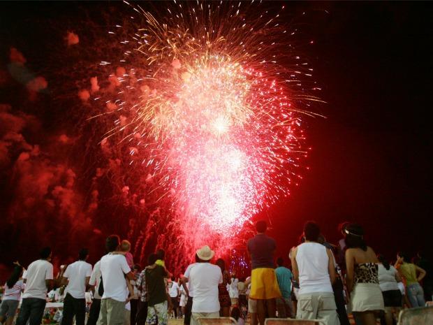 Réveillon é o maior evento do Ceará há sete anos, de acordo com a Prefeitura de Fortaleza (Foto: Agência Diário)