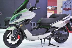 kawasaki Kymco Xciting R 500 (Foto: Divulgação)