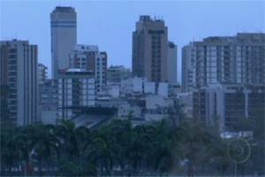 Previsão é de mais chuva no RJ  (Reprodução/TV Globo)