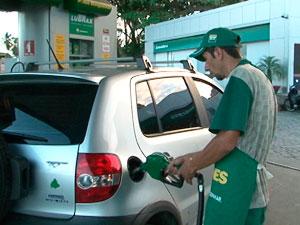 Posto de combustível (Foto: Reprodução/TV Bahia)