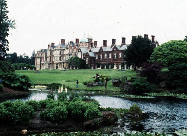 Casa de Sandringham é vista em foto de arquivo (Foto: AP/PA)