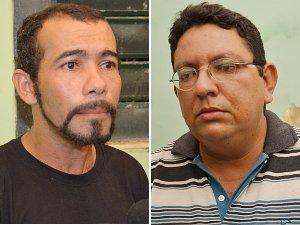 Conselheiros receberam voz de prisão logo que pegaram o dinheiro (Foto: Walter Paparazzo/G1 PB)