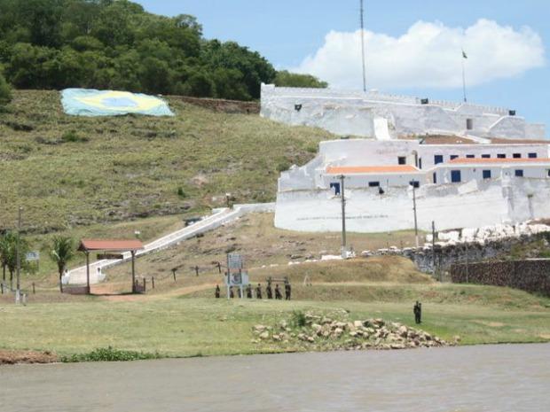 Forte Coimbra é um dos pontos turísticos de Corumbá (Foto: Thayssa Maluf/Arquivo Pessoal)