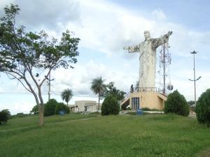 Estátua do Cristo Rei (Foto: Joice Marques/Divulgação)
