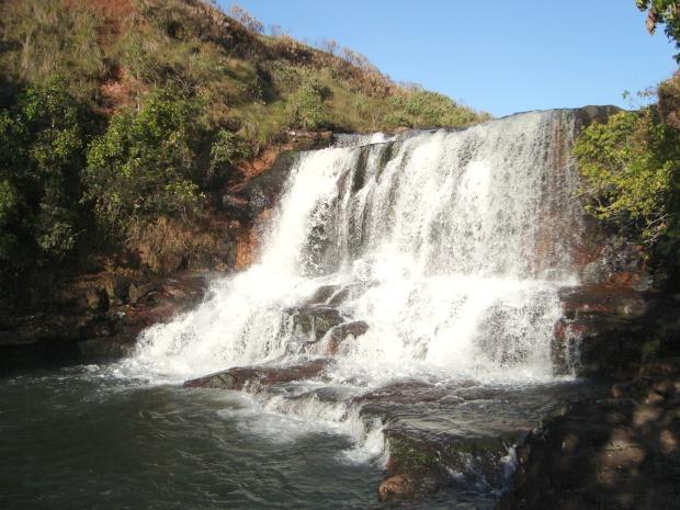 Cachoeira da Rapadura em Costa Rica (Foto: Weder Paes/Arquivo Pessoal)