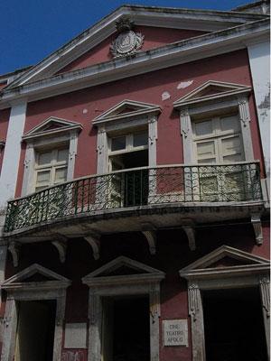 Teatro Apolo é o mais antigo do Recife (Foto: Vanessa Bahé / G1)