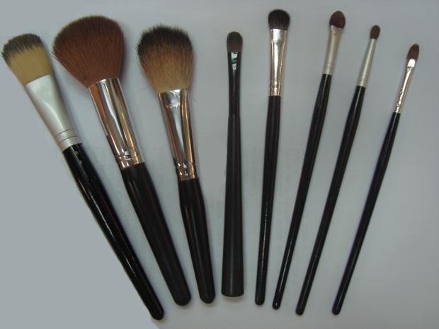 Pincéis para maquiagem (Foto: Tássia Lima/G1)