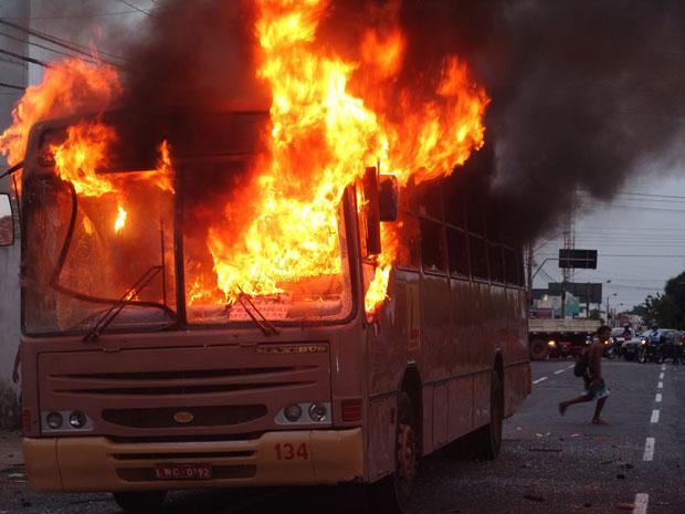 incendio (Foto: Flávio Meireles/Portal Da Clube/Divulgação)