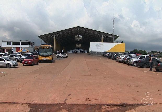 Novo porto será construído na área da Ceasa (Foto: Reprodução TV Amazonas)