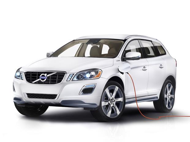 Volvo XC60 Plug-in Hybrid Concept será apresentado no Salão de Detroit (Foto: Divulgação)