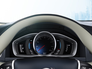 Painel do Volvo XC60 Plug-in Hybrid Concept  (Foto: Divulgação)