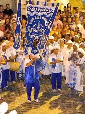 Afoxé Omô Nilê Ogunjá (Foto: Acervo: Casa do Carnaval)
