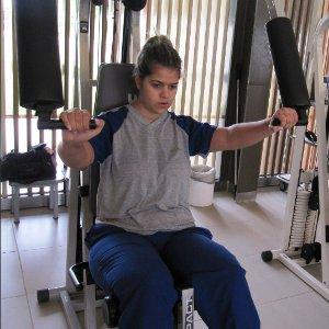 Rayssa Favaro luta para voltar a andar e a estudar após acidente em Campo Grande (MS) (Foto: Arquivo Pessoal/Nara Favaro)