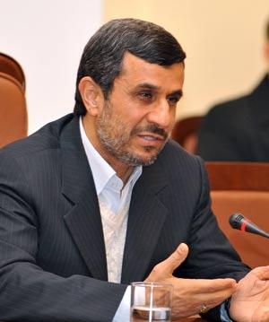 Presidente iraniano, Mahmud Ahmadinejad. (Foto: AFP)