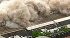 Galpões são implodidos no Rio; assista (Reprodução/TV Globo)