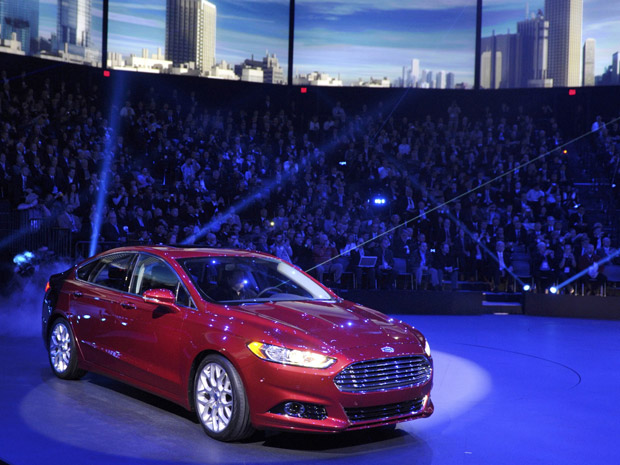 ford fusion salão de detroit (Foto: /Mike Cassese/Reuters)