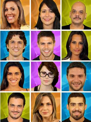 Participantes do BBB (Foto: Divulgação/TV Globo)