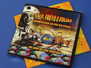 CD conta com os 12 frevos finalistas do concurso do Galo. (Foto: Katherine Coutinho / G1)