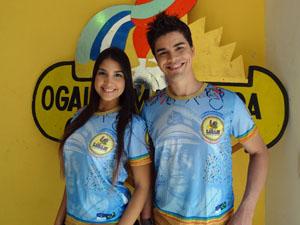 Camisas do Galo são em homenagem a Luiz Gonzaga. (Foto: Katherine Coutinho / G1)