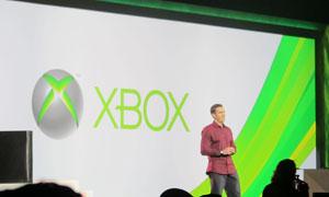 Craig Davidson, diretor de Xbox, apresentou novidaes do console da Microsoft (Foto: Gustavo Petró/G1)
