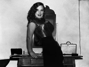 A atriz francesa Denise Darcel em 1951 (Foto: AP)