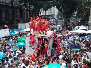 Carnaval de rua de 2011 (Foto: Bernardo Tabak/G1)