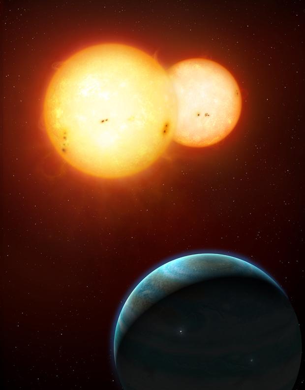 Uma nova classe de planetas foi revelada com as descobertas de 34b e 35b. (Foto: Mark Garlick / Nasa)