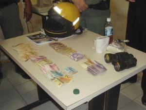 R$ 13 mil foram recuperados com dois suspeitos presos (Foto: Mardem Lopes/Arquivo Pessoal)