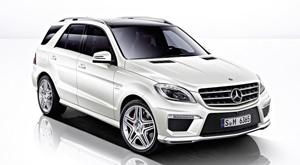 Mercedes-Benz ML (Foto: Divulgação)