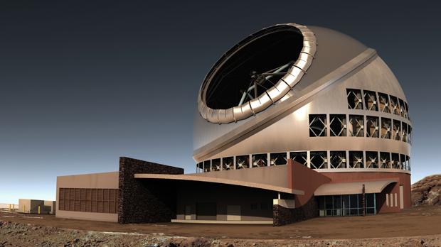Após ficar pronto em 2018, o telescópio será o maior do mundo. (Foto: Thirty Meter Telescope / AP Photo)
