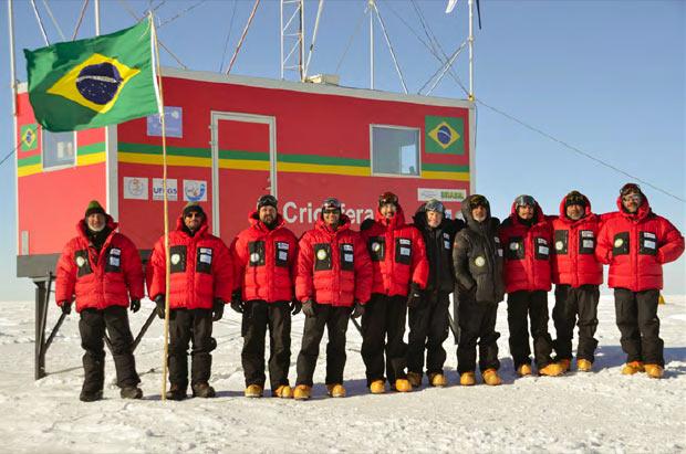 Criosfera na Antártida (Foto:  )