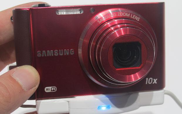 Câmera tem conexão Wi-Fi com computador ou TV inteligente (Foto: Gustavo Petró/G1)