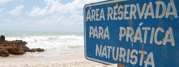 Praia de Tambaba na Paraíba (Foto: Inaê Teles/G1)