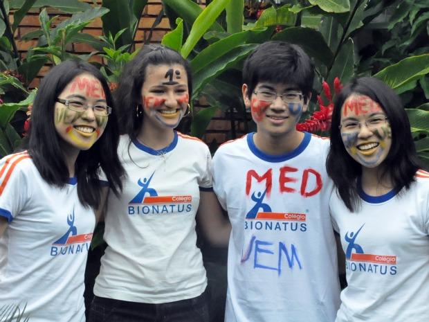 Gêmeas de MS garantem vaga em curso de Medicina (Foto: Aliny Mary Dias/G1MS)