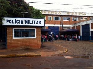 Presídio de Segurança Máxima de Campo Grande (Foto: Edson Ferraz/TV Morena)