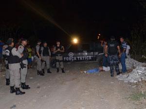 Sargento da PM é assassinado na Paraíba (Foto: Walter Paparazzo/G1)