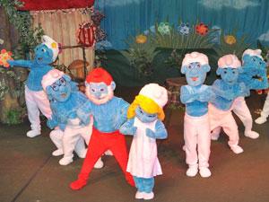 Versão pernambucana dos Smurfs (Foto: Divulgação)