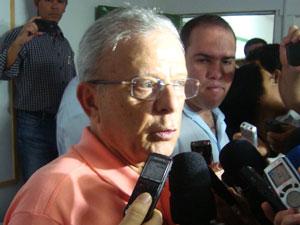 Luciano Agra fala sobre desistência em João Pessoa (Foto:  Jhonathan Oliveira/G1)