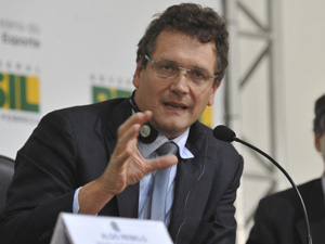 O secretário-geral da Fifa, Jêrome Valcke (Foto: Valter Campanato / Agência Brasil)