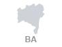 mapa bahia (Foto: Arte G1)