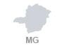 mapa minas gerais (Foto: Arte G1)