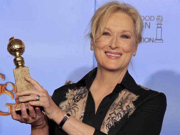"""Meryl Streep, vencedora de melhor atriz em um filme de drama por """"A dama de ferro"""" (Foto: Reuters)"""