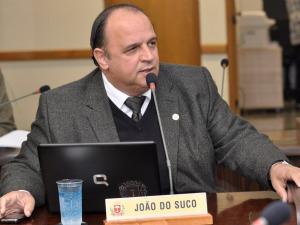 Vereador João do Suco (PSDB) (Foto: Divulgação/ Câmara Municipal de Curitiba)