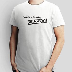Camiseta com a inscrição 'Vada a bordo, cazzo' (Foto: Reprodução)