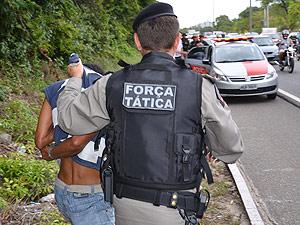 Estuprador é preso em flagrante após denúncia na Paraíba (Foto: Walter Paparazzo/G1)