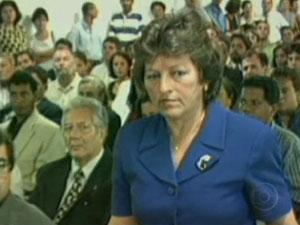 Deputada Ceci Cunha foi morta em 1998 (Foto: Reprodução / TV Globo)