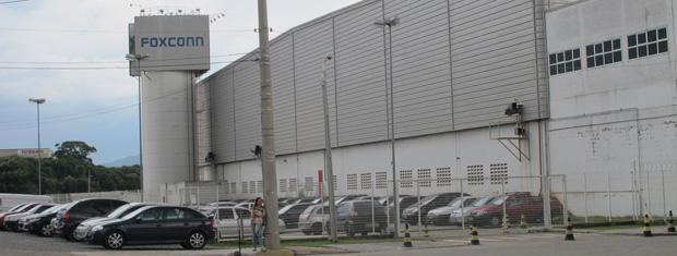 Unidade da Foxconn em Jundiaí: expectativa é de 1,5 mil empregos novos para a produção de tablets da Apple  (Foto: Renato Jakitas/G1)
